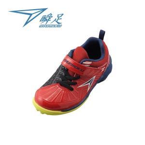 【2E】瞬足 JC-607 赤[SJC6070]※15.0-23.0cmキッズ/子供靴/2E|achilles-shop3