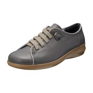 レディース ウォーキングシューズ 幅広 靴 トラベルシューズ 履き心地の良い靴 アキレス・ソルボ 0...