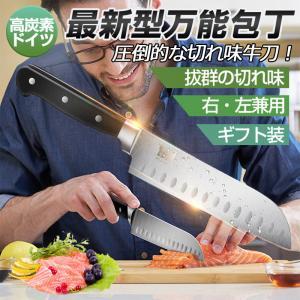 包丁 キッチンナイフ シェフナイフ ステンレス 料理包丁 万能包丁 キッチン包丁 高級 切れ味抜群 衛生 プロ 和式 肉 魚 野菜料理など対応|achostore