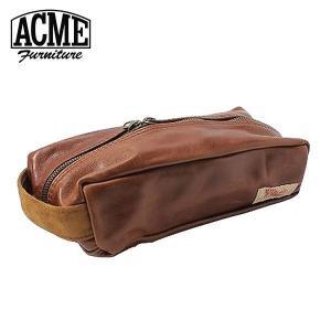 「ACME HOME SUPPLY」のペンケース。Wジッパーで、ティッシュカバーにもポーチにもなる。...