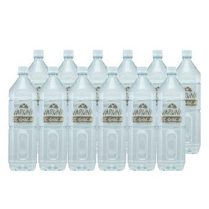 身体に吸収されやすいおいしい水 VARUNA GOLD  1.5L 12本セット acmpistore