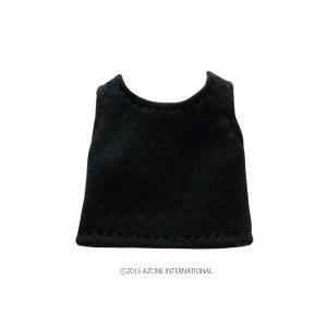 1/12 ベーシックタンクトップ(ブラック) [アゾン 人形用洋服]|acodolls
