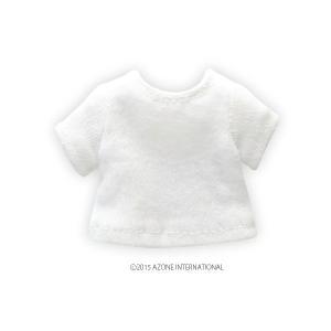 1/12 ベーシックTシャツ(ホワイト) [アゾン 人形用洋服]|acodolls