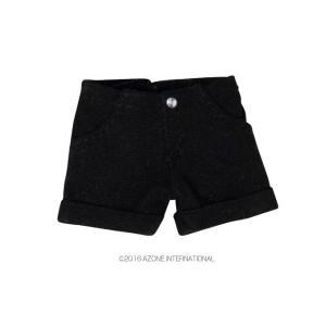 1/12 ロールアップパンツ(ブラック) [アゾン 人形用洋服]|acodolls