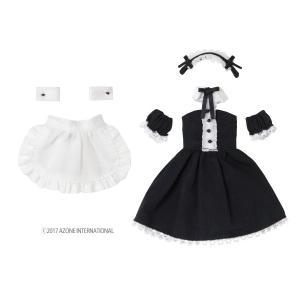 1/12 カフェメイドset(ブラック×ホワイト) [アゾン 人形用洋服]|acodolls