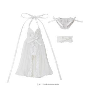 1/12 ベビードールset(ホワイト) [アゾン 人形用衣装]|acodolls