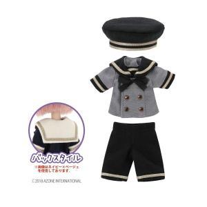 1/12 ピコD ギムナジウムセーラーset(グレー×ブラック) [アゾン 人形用洋服]|acodolls