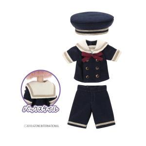 1/12 ピコD ギムナジウムセーラーset(ネイビー×ベージュ) [アゾン 人形用洋服]|acodolls