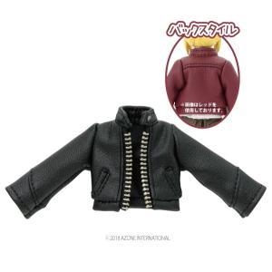 1/12 Sライダースジャケット(ブラック) [アゾン 人形用洋服] acodolls
