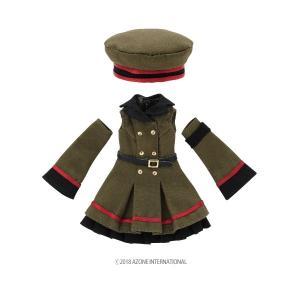1/12 ミリタリーワンピースset(カーキ) [アゾン 人形用洋服]|acodolls