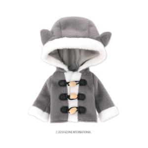 1/12 ピコD ねこさんコート(グレー) [アゾン 人形用洋服]|acodolls