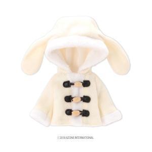 1/12 ピコD うさぎさんコート(オフホワイト) [アゾン 人形用洋服]|acodolls