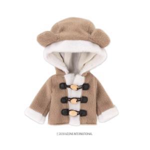 1/12 ピコD くまさんコート(ブラウン) [アゾン 人形用洋服]|acodolls