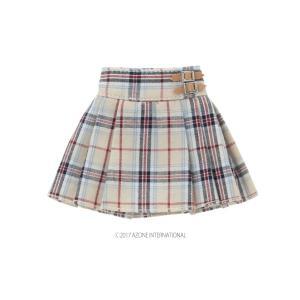 PNXS プレッピープリーツスカート(ベージュ) [アゾン 人形用洋服]|acodolls