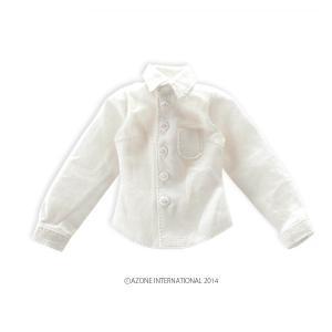 PNS ベーシックYシャツ(ホワイト) [アゾン 人形用洋服]|acodolls