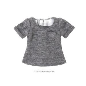 PNS 男の子ローエッジTシャツ(グレー) [アゾン 人形用洋服]|acodolls
