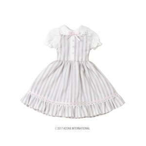 PNS ミルキーワンピース(グレー) [アゾン 人形用洋服]|acodolls