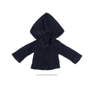 PNM ふんわりフードカーディガンII(ネイビー) [アゾン 人形用洋服]|acodolls