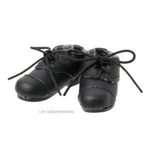 PN レザーシューズ(ブラック) [アゾン 人形用靴]|acodolls