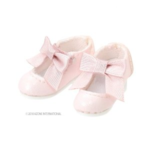 PN Sugar Dream お砂糖リボンシューズ(ピンク) [アゾン 人形用靴]|acodolls