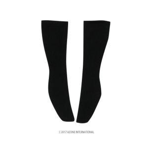 AZO2 スクールソックス(ブラック) [アゾン 50cm人形用靴下]|acodolls