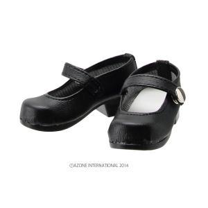 50 ワンストラップシューズ(ブラック) [アゾン 50cm人形用靴]|acodolls