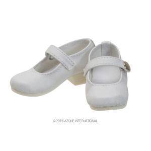50 ワンストラップシューズ(ホワイト) [アゾン 50cm人形用靴]|acodolls