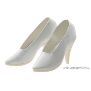 50 ハイヒール(グロスホワイト) [アゾン 人形用靴]|acodolls