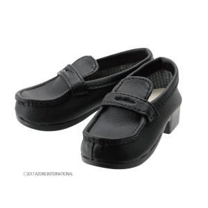50 ローファーIII(ブラック) [アゾン 人形用靴]|acodolls