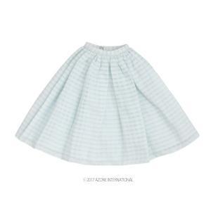 50 シースルースカート(サックス) [アゾン 50cm人形用洋服]|acodolls