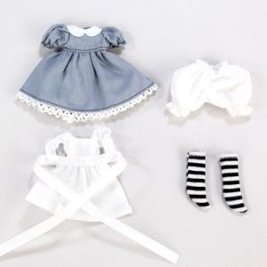 11cmボディ用 アリスドレスセット(グレー) [オビツ 人形用洋服]|acodolls