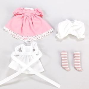 11cmボディ用 アリスドレスセット(ピンク) [オビツ 人形用洋服]|acodolls