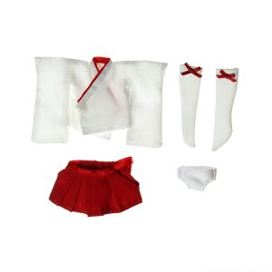 11cmボディ用 チビカグヤのミニ巫女服セット  [オビツ 人形用洋服]|acodolls