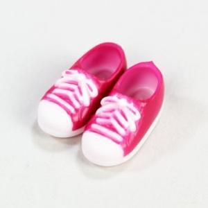 11cmボディ用 スニーカー マグネット付き(ピンク) [オビツ 人形用靴]|acodolls