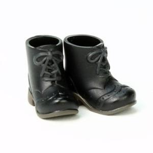 11cmボディ用 ショートブーツ(ブラック) [オビツ 人形用靴]|acodolls