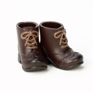 11cmボディ用 ショートブーツ(ブラウン) [オビツ 人形用靴]|acodolls