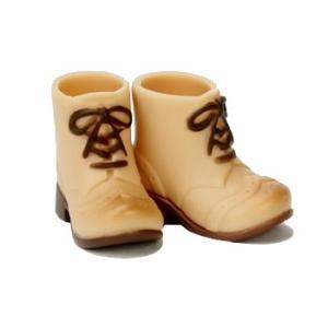 11cmボディ用 ショートブーツ(ウォームベージュ) [オビツ 人形用靴]|acodolls