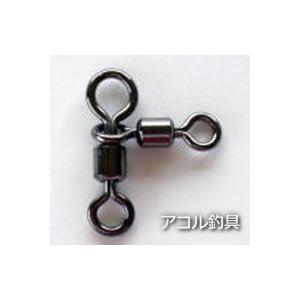 パワーオヤコ 100個入り 3×4 黒  NTスイベル (3*4)|acoltsurigushop