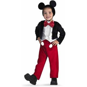 コスプレ 子供 衣装 男の子 人気 プレゼント キッズ ミッキーマウスの コスチューム|acomes
