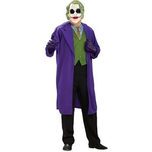 バットマン コスプレ ダークナイト グッズ ジョーカー 大きいサイズ 大人用 衣装・コスチューム|acomes