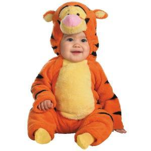 ハロウィン 赤ちゃん ディズニー コスチューム ベビープー くまのプーさん ティガー 赤ちゃんコスプレ衣装 着ぐるみ|acomes