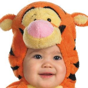 ハロウィン 赤ちゃん ディズニー コスチューム ベビープー くまのプーさん ティガー 赤ちゃんコスプレ衣装 着ぐるみ|acomes|05