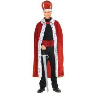 王様 王子様  衣装 コスプレ コスチューム ローブ 王冠 セット ガウン 大人用 グッズ マント クラウン|acomes
