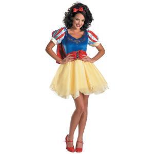 白雪姫 コスプレ 大人用 コスチューム 衣装 セクシー ドレス デラックス プレステージ ハロウィン 仮装|acomes