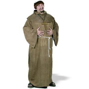 中世 ルネッサンス コスチューム/グッズハロウィン 中世の修道士 プラス大人用 大きいサイズ|acomes