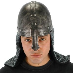 中世 ルネッサンス コスチューム/グッズ ブラックナイト(黒の騎士) ヘルメット コスプレグッズ acomes