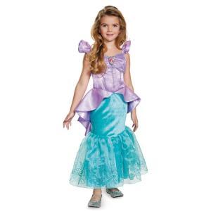 ディズニー コスプレ 子供 コスチューム 人気 プリンセス アリエル ドレス 幼児 女の子 リトルマーメイド 人魚 人魚姫 お姫様  衣装|acomes