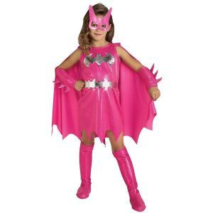 プレゼント 衣装 キッズ ピンク バットガール 子供用コスチューム