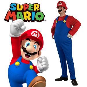 マリオ コスプレ コスチューム 衣装 大人 男性 服 ハロウィン 仮装 スーパーマリオブラザーズ キャラクター 任天堂 テレビゲーム|acomes