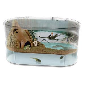スターウォーズ グッズ 水槽 自由研究 観察 材料 惑星ダゴバ カエルの水槽